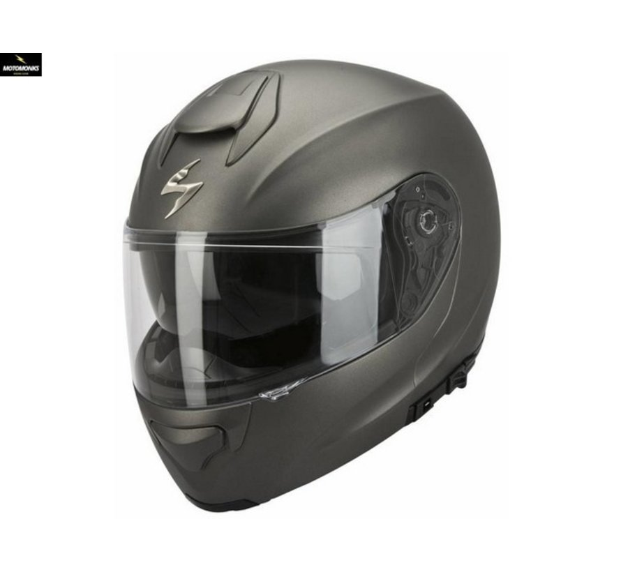 EXO-3000 air Solid Matt Anthracite systeemhelm