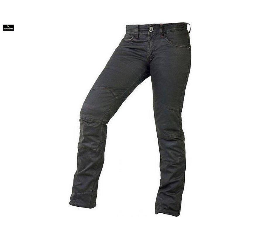 Chiloe Waxed Black jeans
