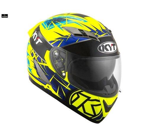 SMK Kyt Falcon 2 Rift helm yellow blue