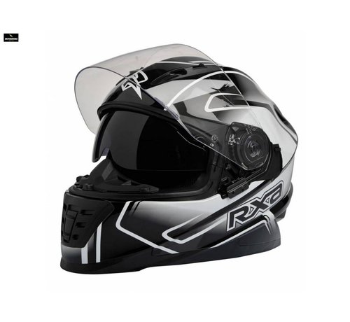 RXA Xenon Graphic BS motorhelm