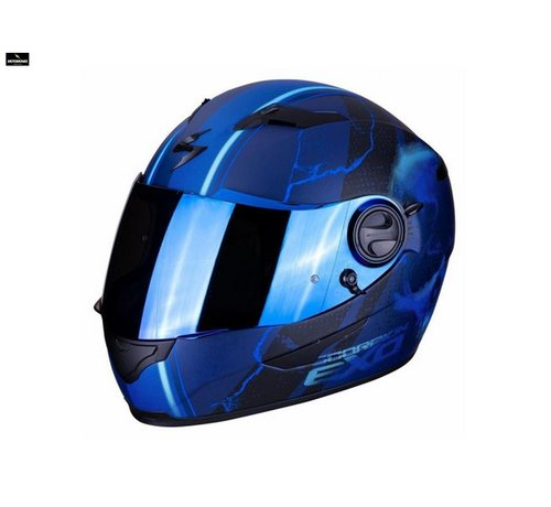 Scorpion EXO-490 DAR Matt Blue helm