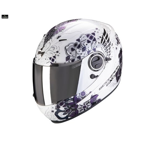 Scorpion EXO-490 DIVINA White Chameleon helm
