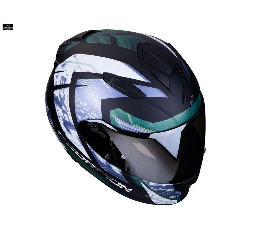 Exo 510-air Clarus matt black/ silver helm