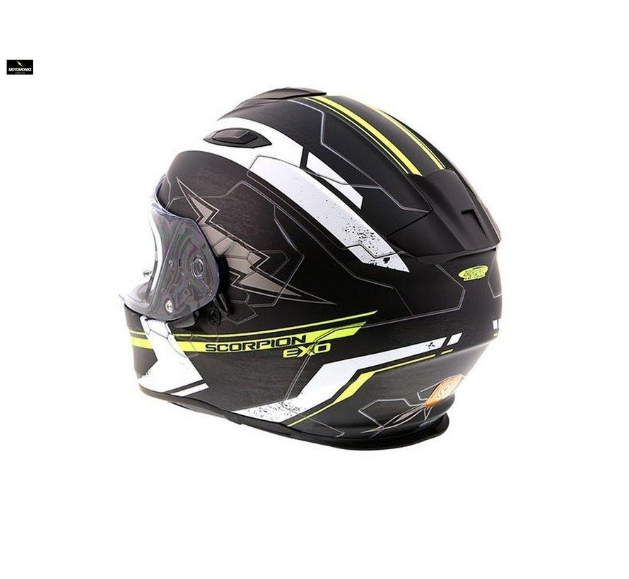 Exo 510-air Cross matt  black/ white/ fluo helm
