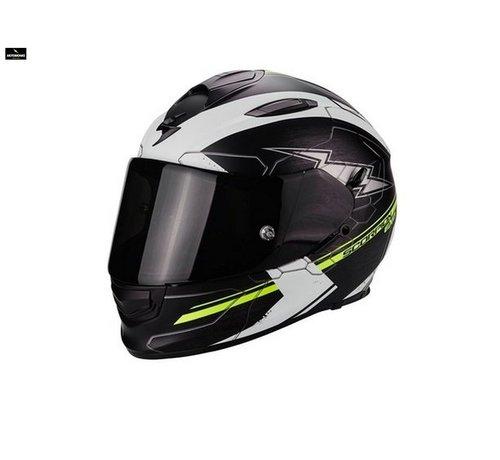 Scorpion Exo 510-air Cross matt  black/ white/ fluo helm