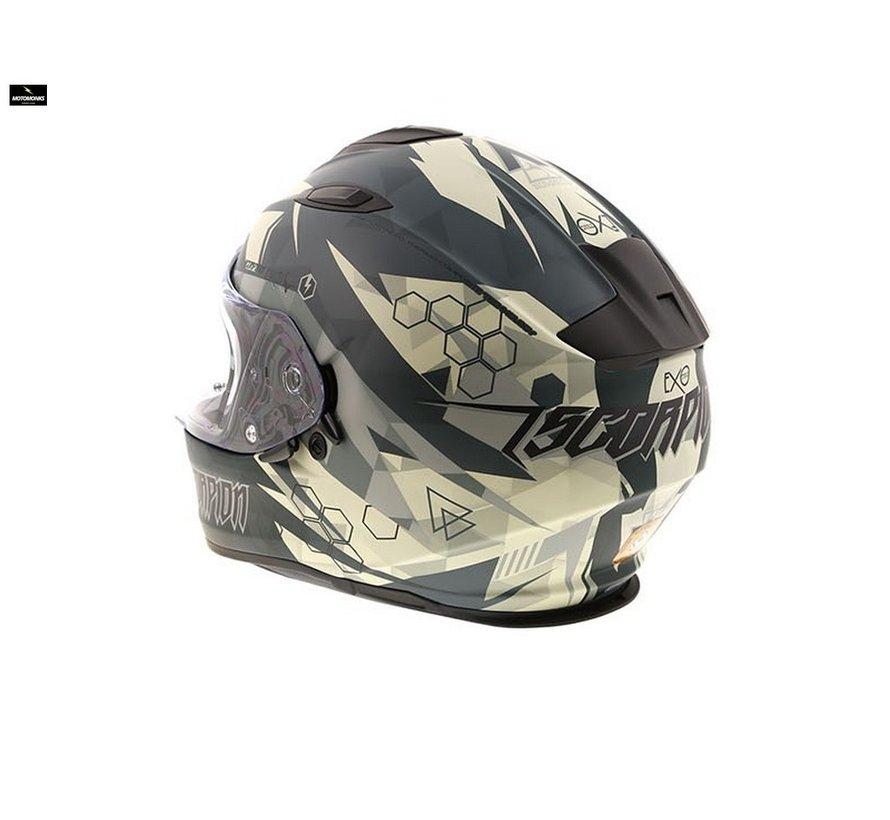 Exo-510 Air Cipher matt green helm