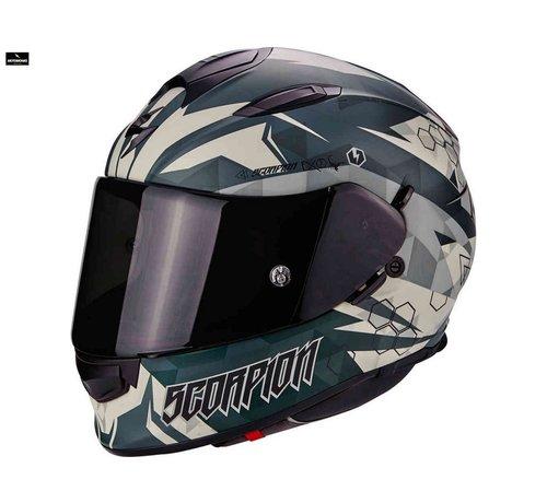 Scorpion Exo-510 Air Cipher matt green helm