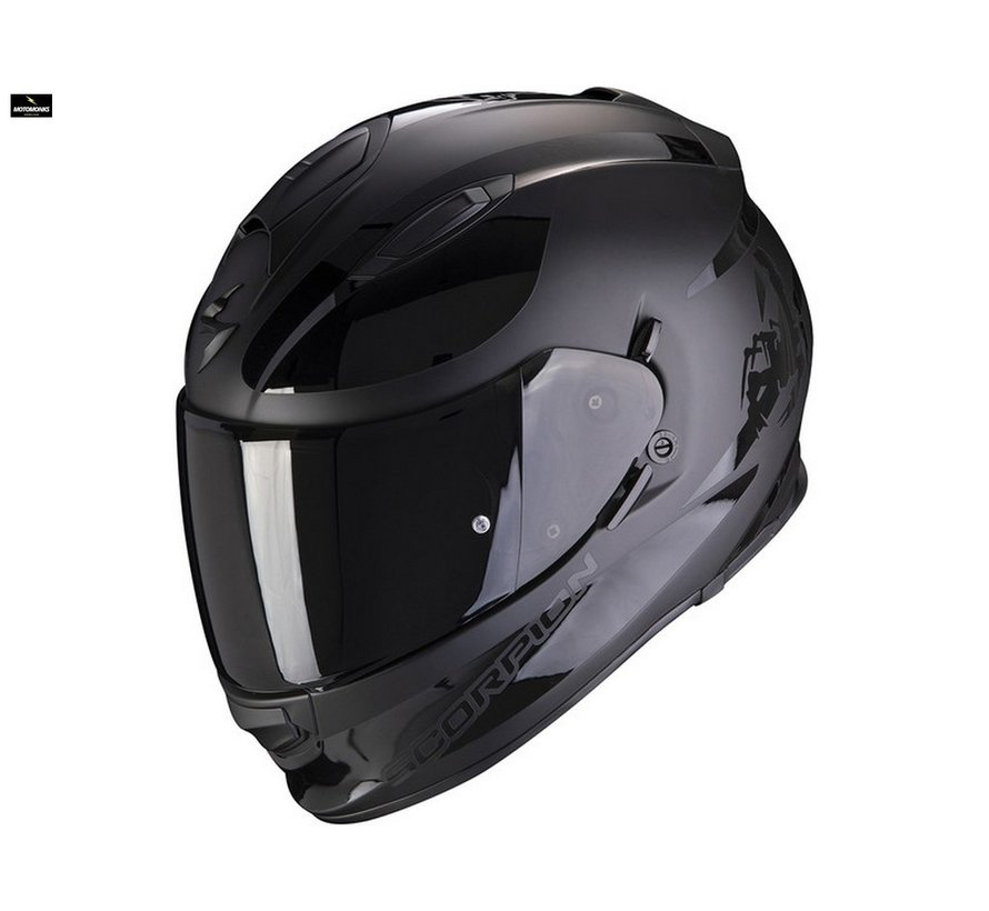 Exo 510-air Sublim matt black helm