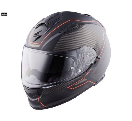 Scorpion Exo-510 Air Frame Matt Black-Red helm