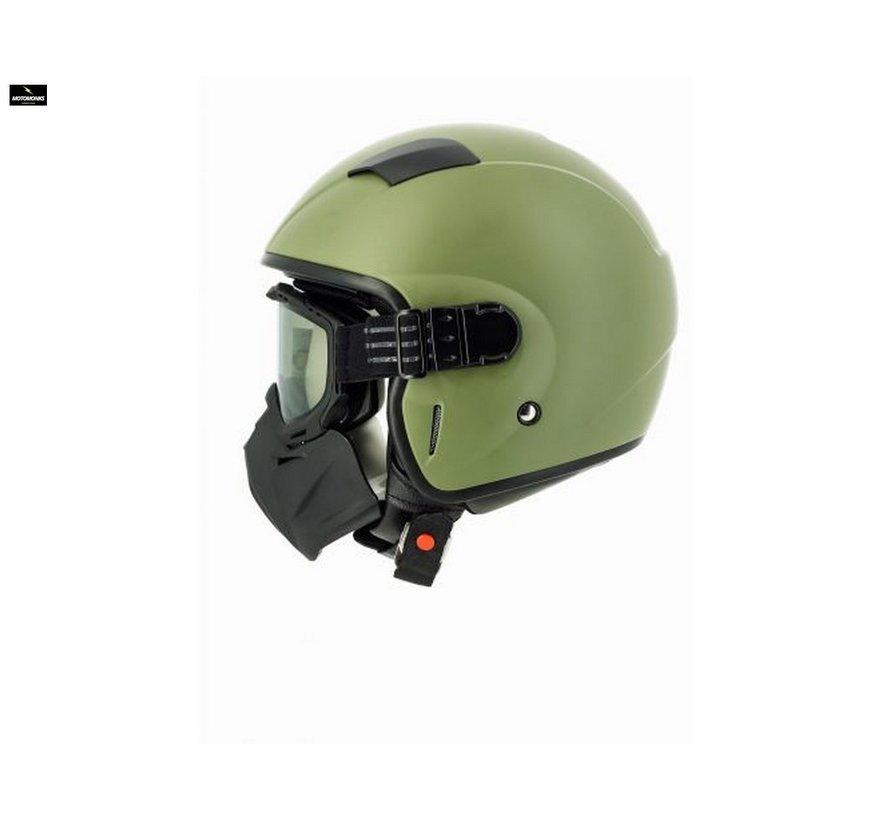 Jaws motorhelm groen