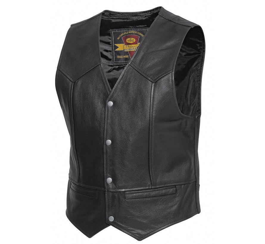 Dillon waistcoat Zwart