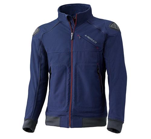 Held Softshell-Jacket Blauw