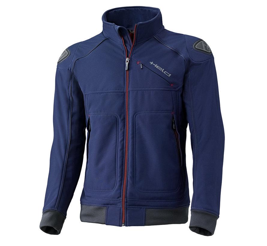 Softshell-Jacket Blauw