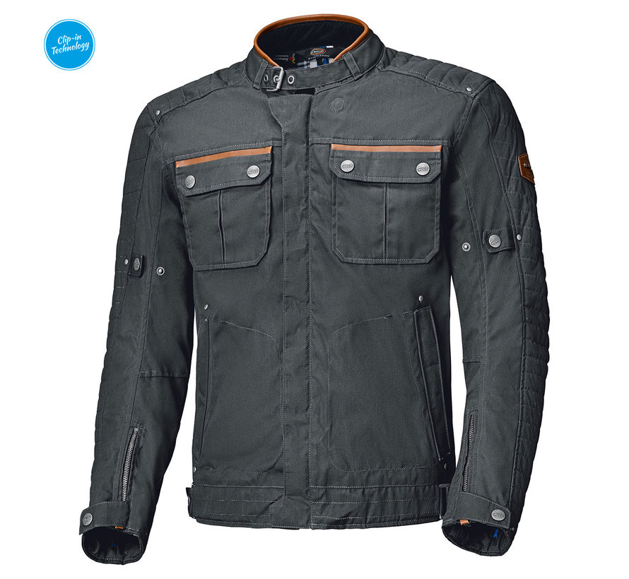 Bailey Urban Jacket Cotton waxed Zwart