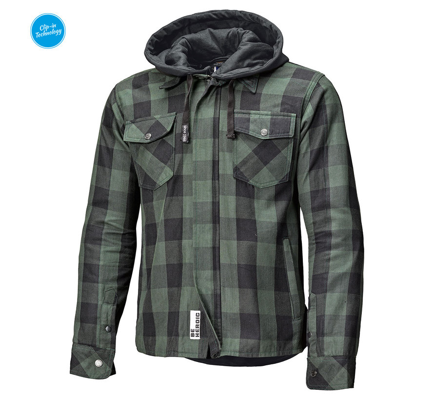 Lumberjack II Zwart-Groen