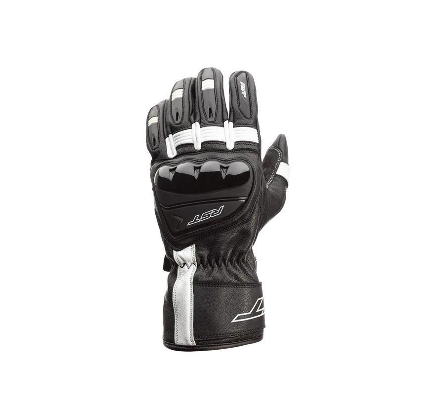 RST Pilot CE Handschoenen Leren Zwart/Wit