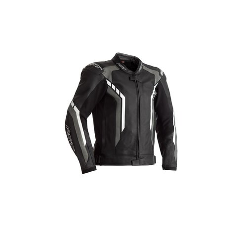 RST Axis Leather Zwart/Wit