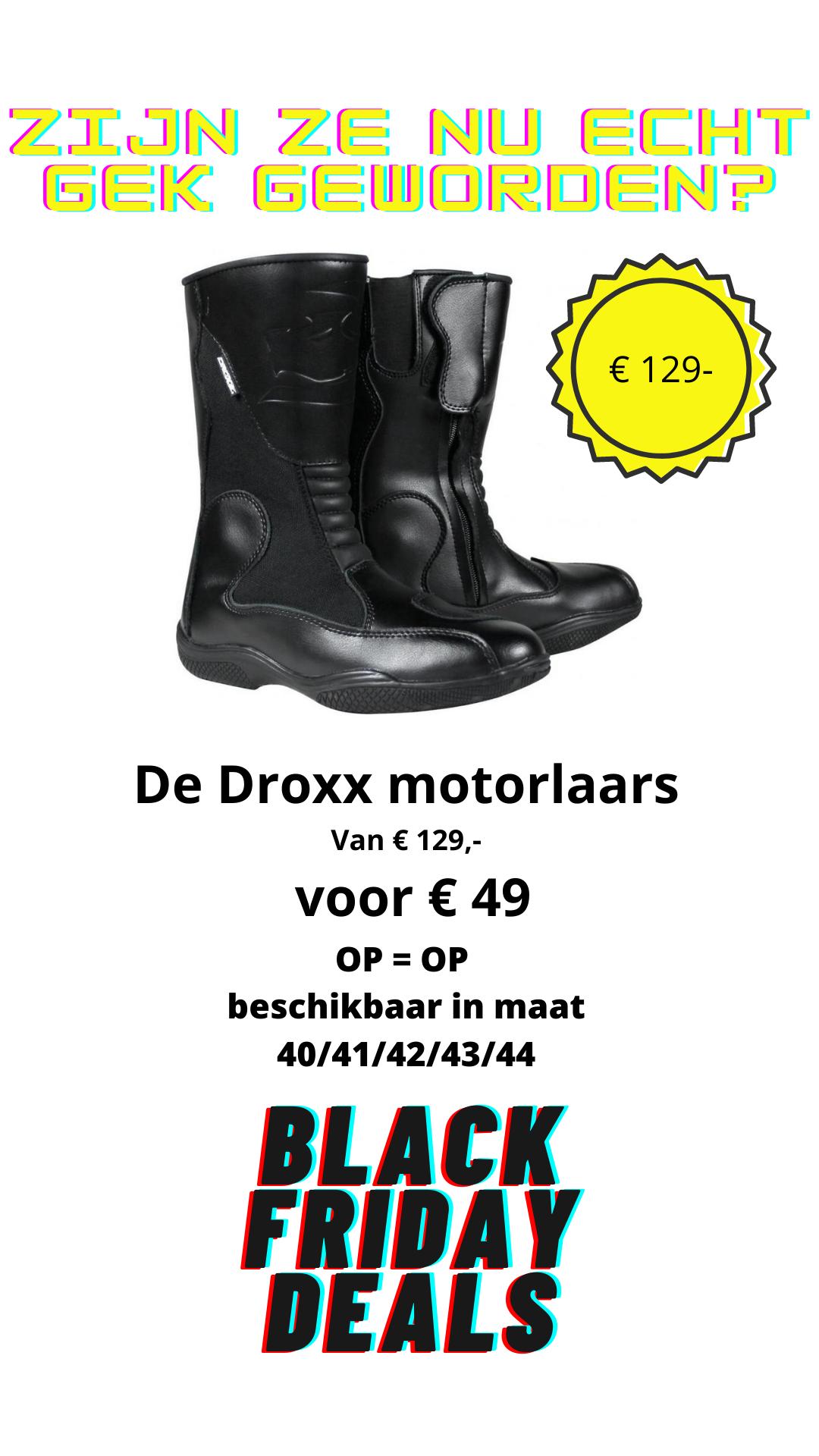Black friday Droxx deal