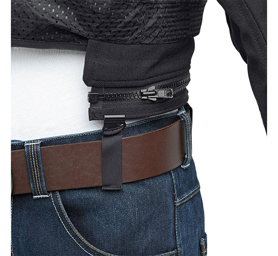 Jacket connectie Zip Adapter for jeans zwart
