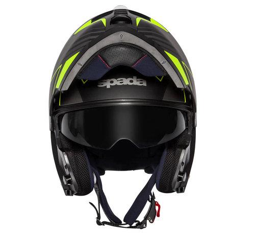 Spada Orion Whip Helm Zwart/Fluo