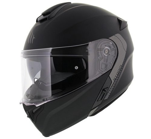 MT-Helmets Helm Storm SV Systeem Mat Zwart