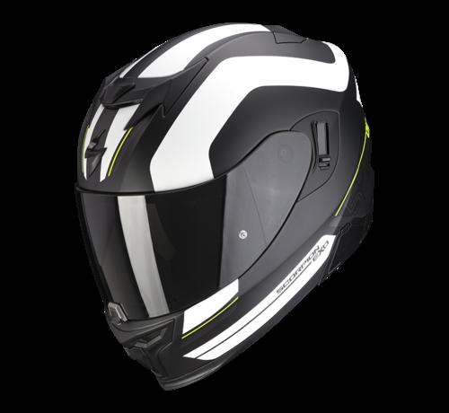 Scorpion EXO-520 AIR LEMANS Mat Zwart Zilver Wit