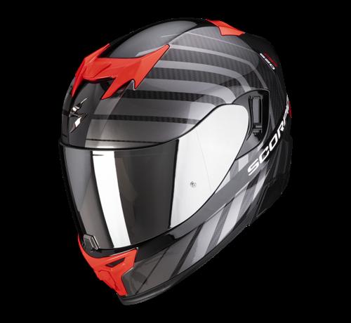 Scorpion EXO-520 AIR SHAD Zwart Rood