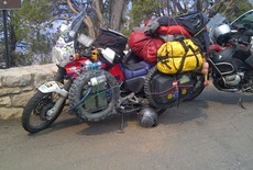 Hoe neem je bagage mee op de motor?