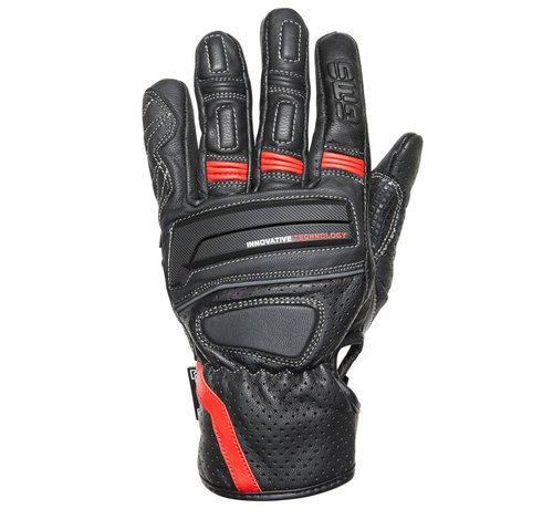 Germas Handschoen Navigator Man Zwart Rood