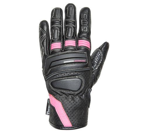 Germas Handschoen Navigator Dames Zwart Roze
