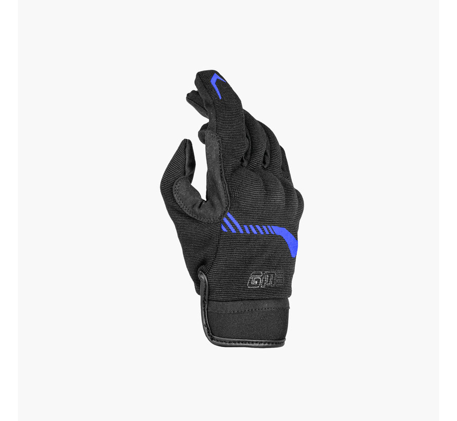 Handschoen Jet-City Zwart Blauw