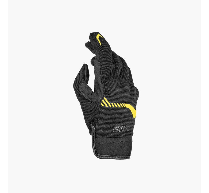 Handschoen Jet-City Zwart  Geel