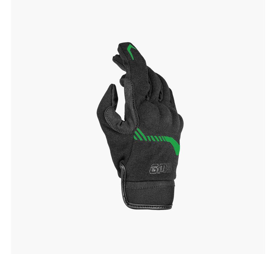 Handschoen Jet-City Zwart Groen