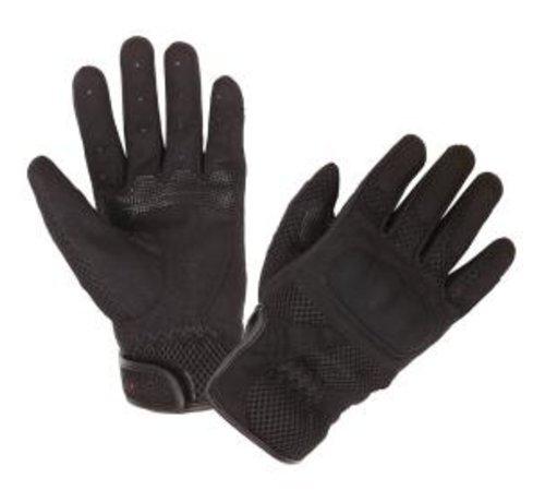 Modeka Handschoen Mesh Men Zwart Textielmateriaal