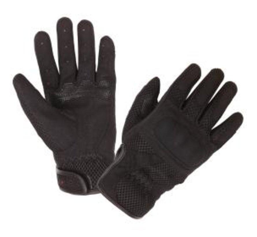 Handschoen Mesh Men Zwart Textielmateriaal