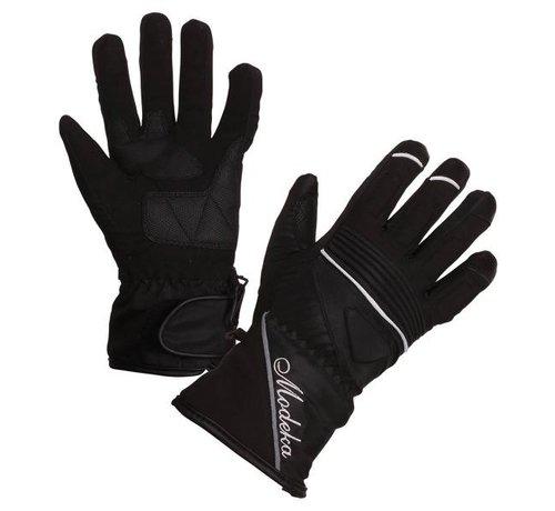 Modeka Handschoen Janika Lady  Zwart Wit Polyester