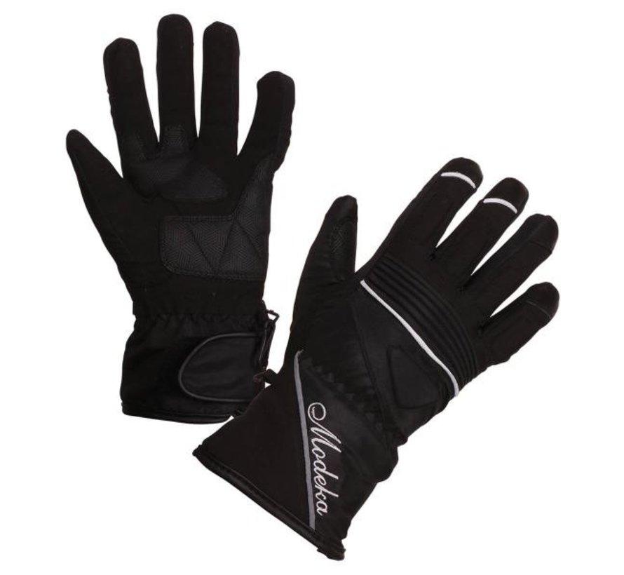Handschoen Janika Lady  Zwart Wit Polyester