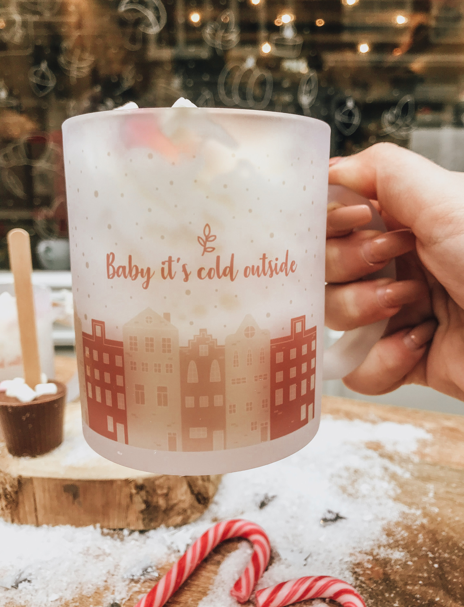 BABY IT'S COLD OUTSIDE | AMSTERDAM MUG