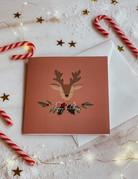CHRISTMAS CARD   HAPPY HOLIDAYS