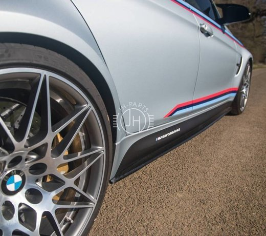 Carbon side skirts BMW F80 M3