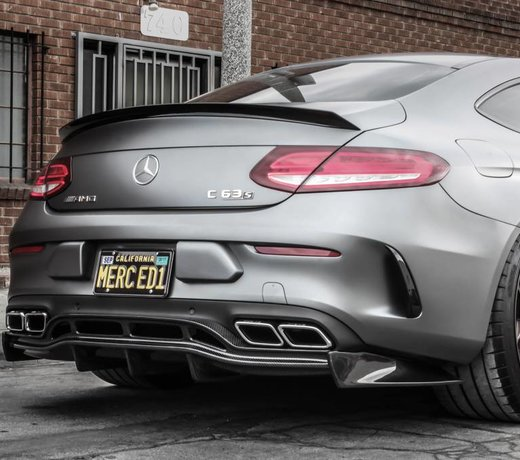 Mercedes C63 (S) Coupe Carbon PSM onderdelen