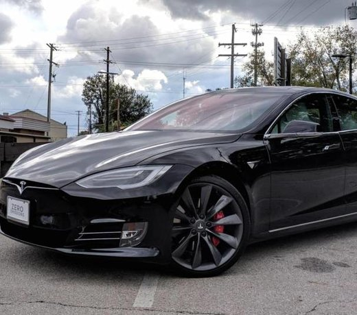 Carbon parts Tesla Model S