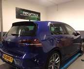 Golf 7R Armytrix uitlaat systeem