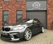 BMW F87 M2 Carbon side skirts + M4 spiegels.