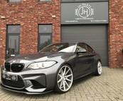 BMW F87 M2 Carbon side skirts + M4 spiegels.
