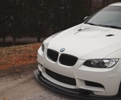 Carbon GT4 front lip splitter BMW E90 E92 E93 M3