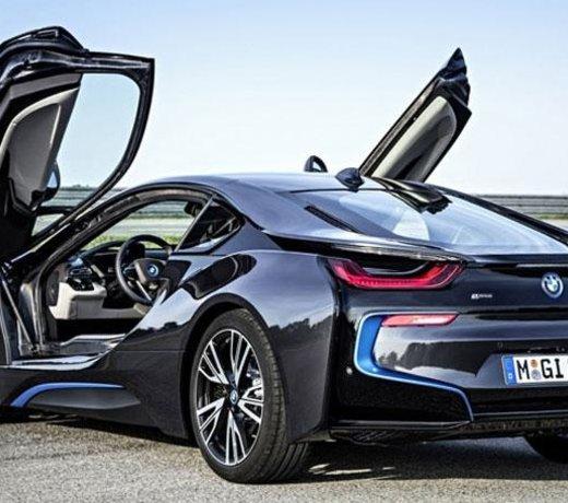 BMW i8 carbon parts