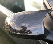 BMW E90 E91 E91 E92 3 Serie carbon M3 style mirror caps