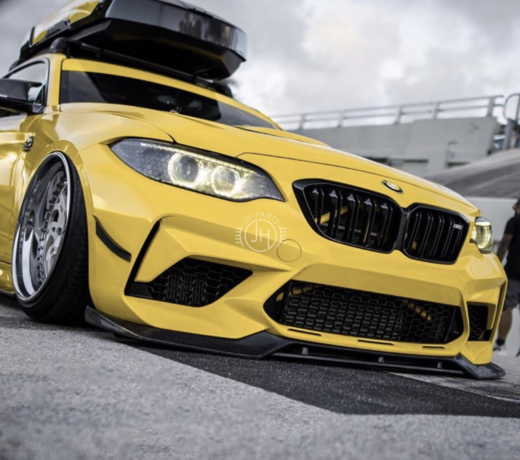 BMW F87 M2 Competition voorlippen