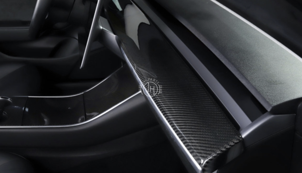 Tesla Model 3 Carbon Interior